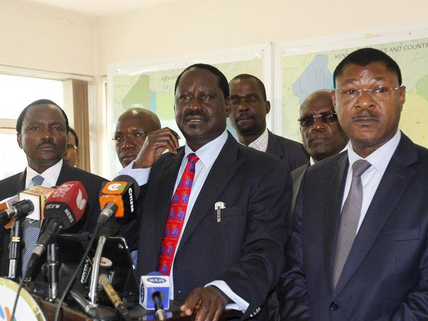 Are cord co-principals leaving Raila Alone?