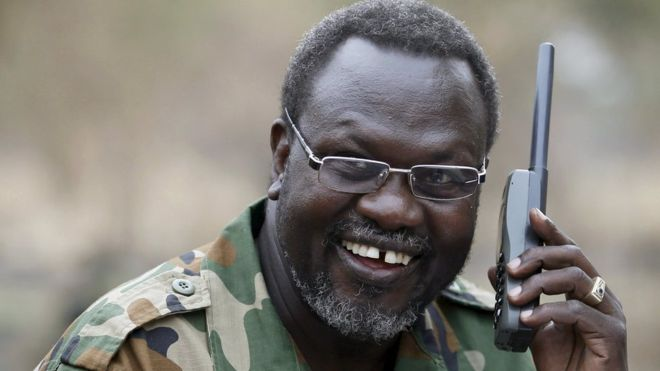 Machar Quits South Sudan